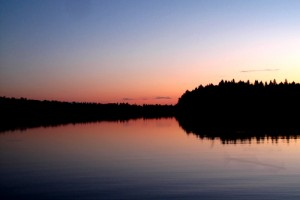 Summer Midnight in Finland, Photograph courtesy of A House Called Nut.