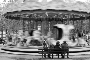 Paris Carousel, photograph by Shawn Duffy