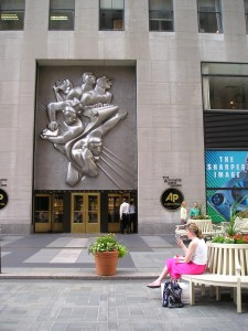 A.P. Building, Rockefeller Plaza, Manhattan