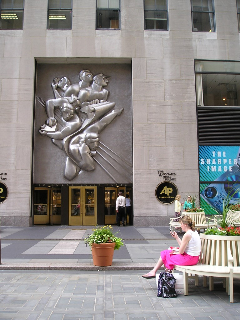 Associated Press Building, Rockefeller Plaza, Manhattan