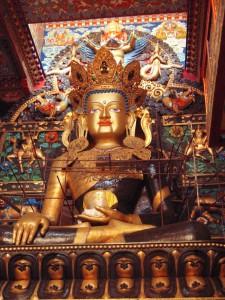 Buddha Statue, Tibet