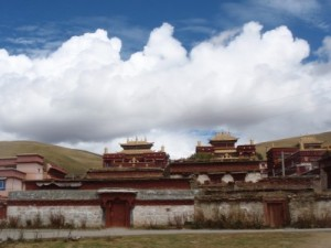 Buddhist Monastery in Tibet