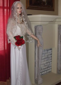 Ghostly Bride at the Mansion Mystere