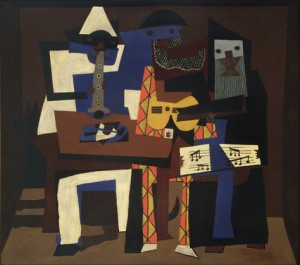 Picasso's Thee Musicians