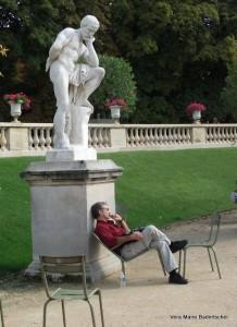 Luxumbourg Garden The Thinkers