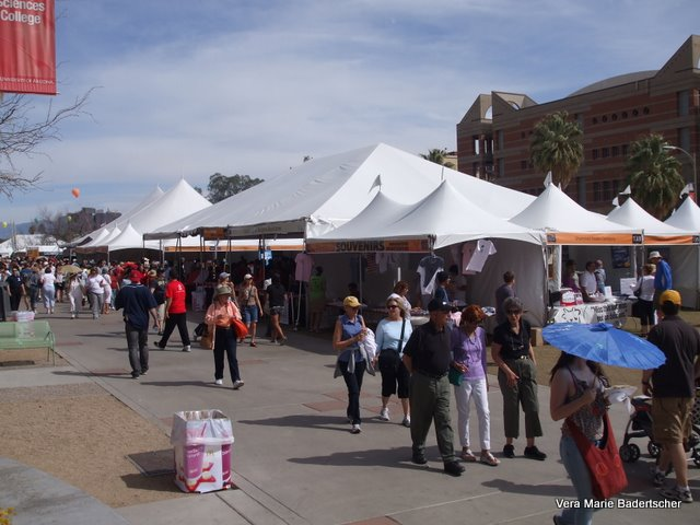 Tucson Festival of Books on University of Arizona Campus