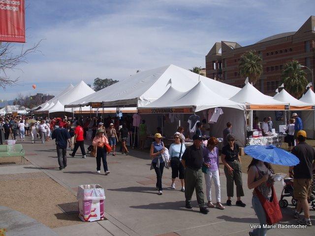 Tucson Festival of Books on University of Arizona Campus