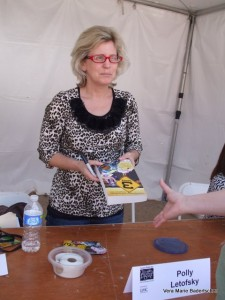 Polly Letofsky, author of 3 MPH