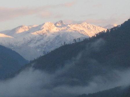 Bhutan Mountains