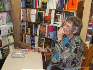 Book signing at BookWorks