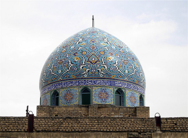Isfahan blue dome