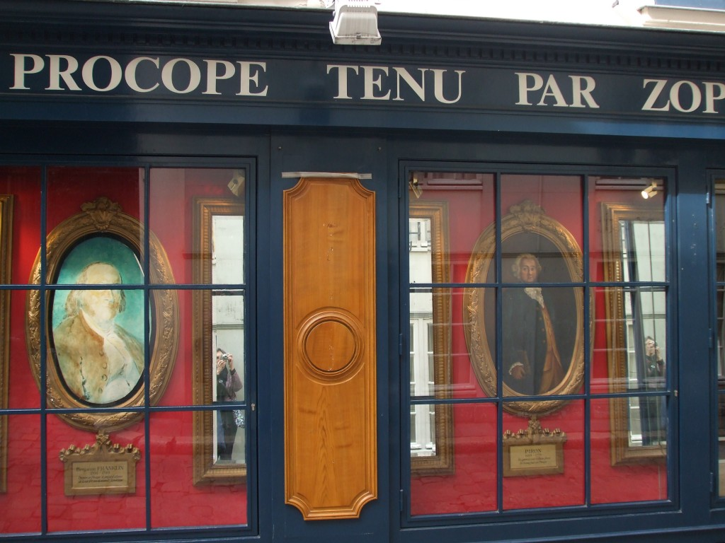 Procope restaurant, Paris