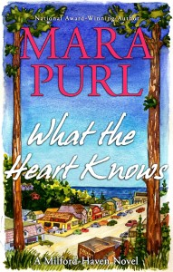 Cover of What the Heart Knows by Mara Purl