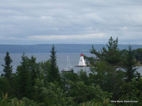 Baddeck Nova Scotia scene