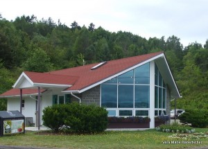 Tourism office near Digby ferry port