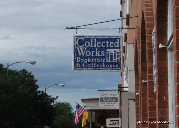 Collected Works Bookstore Sign