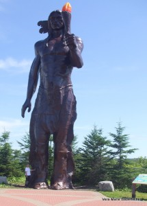 Glooscop Statue, Glooscap Heritage Center, Nova Scotia