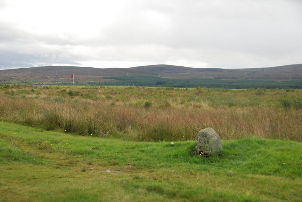 Clan Fraser Marker, Culloden Scotland