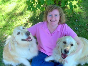 Brette and her dogs