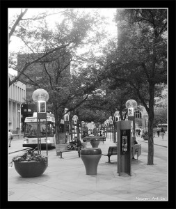 Denver pedestrian mall