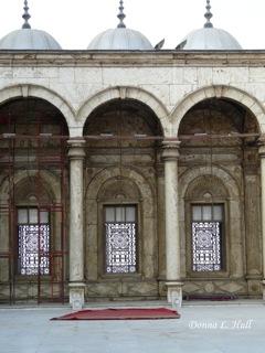 Courtyard of Alabaster Mosque, Cairo