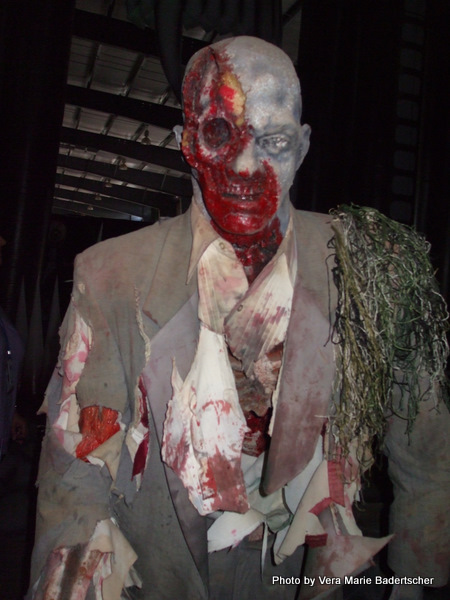 Zombie at Rawhide's The Nest Graveyard