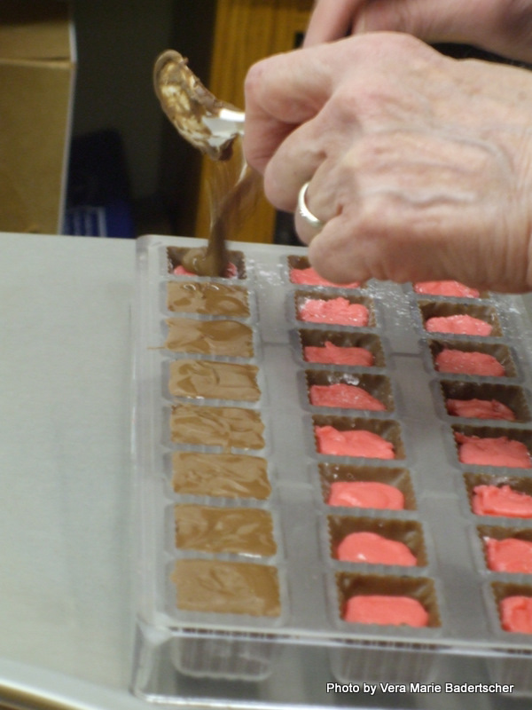 Making Chocolate Candy, The Squirrel's Den, Mansfield, Ohio