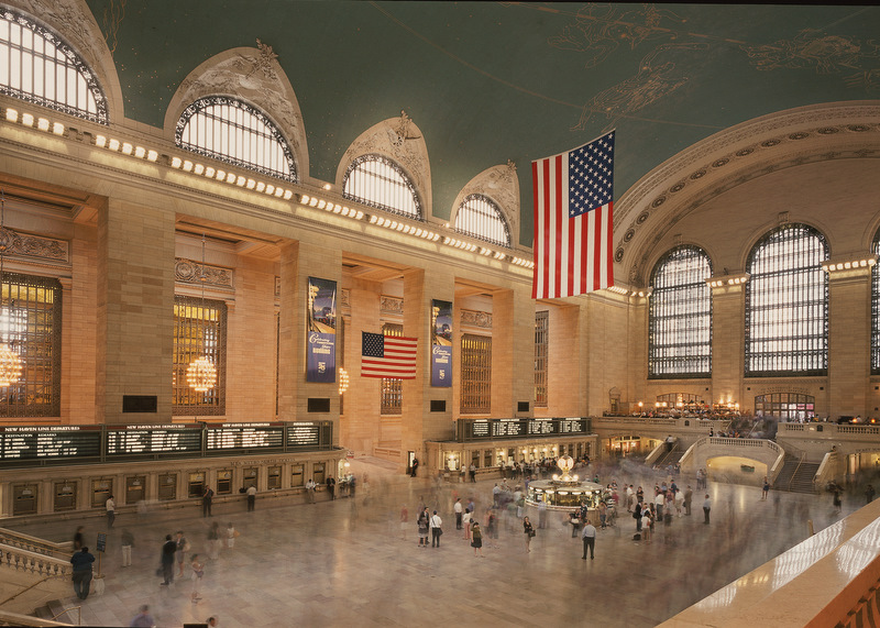 NYC Grand Central Station, Photo by Roger Strauss III