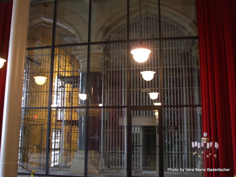From reception room to cells, Shawshank Prison