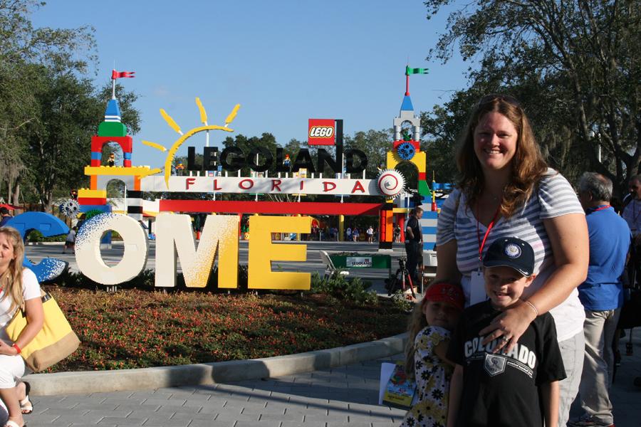 Visiting Legoland