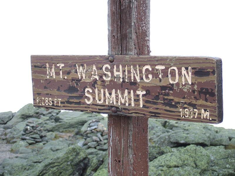 Mt.. Washington New Hampshire