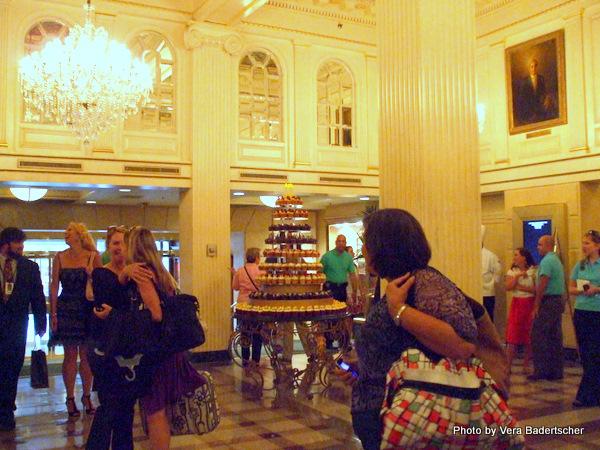 Lobby of Monteleone