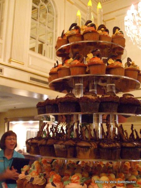 Cupcake Tier at Hotel Monteleone
