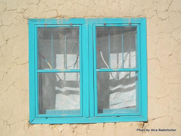 Acoma Pueblo window