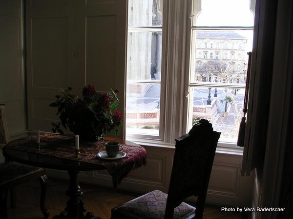 Budapest Apartment Window