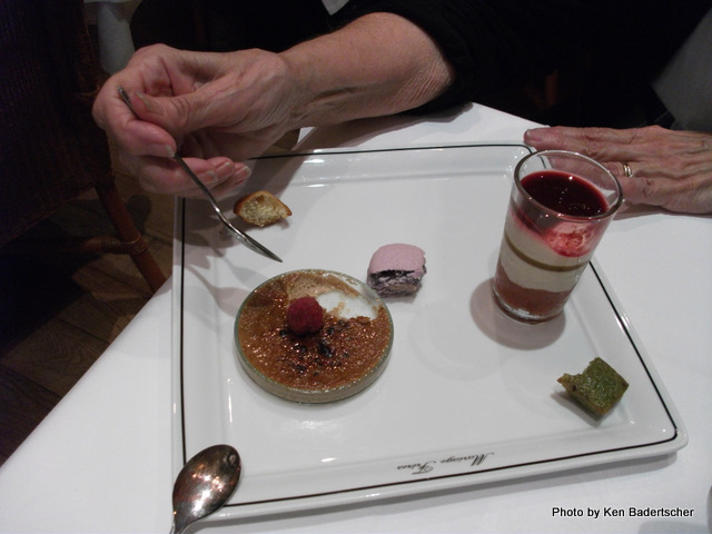 Dessert Plate at Mariage Freres