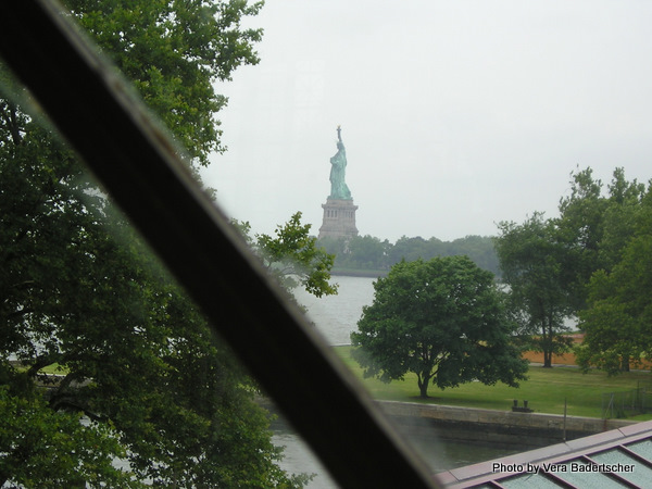 Liberty from Ellis Island Museum