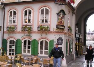 Old town cafe, Salzburg