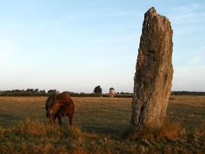 Menhir Jean, Belle Ile, Brittany