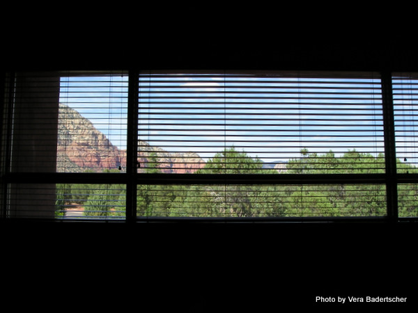 View from Adobe Grande Villas, Sedona