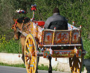 Painted Cart, Sicily