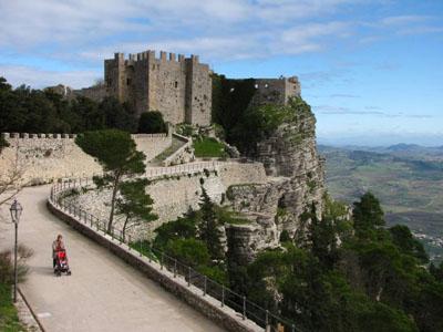 Castle of Erice, Sicily