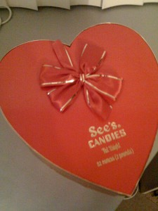 See's Valentine's Candy
