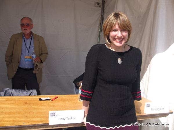Author Holly Tucker