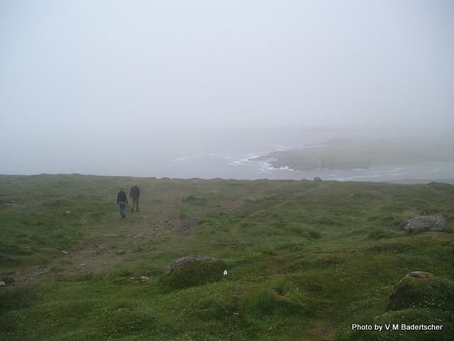 A foggy day on Dingle Peninsula