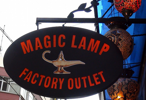 Istanbul Magic Lamp Outlet