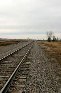 North Dakota Railroad Tracks