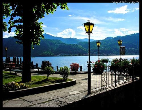 Novaro, Italy. Lago di Orta