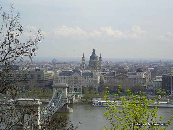 Chain bridge over the Danube, Budapest