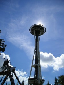 Washington: Space Needle in Seattle
